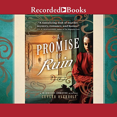 A Promise of Ruin audiobook cover art