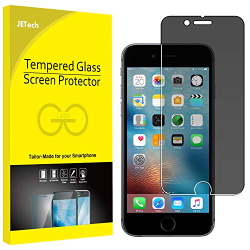 JETech Privacy Screen Protector for iPhone 6 and iPhone 6s Anti-Spy Tempered Glass Film