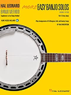 More Easy Banjo Solos - 2nd Edition: For 5-String Banjo