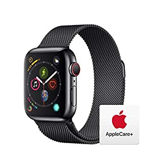 AppleWatch Series4 (GPS+Cellular, 40mm) - Space Black Stainless Steel Case with Space Black Milanese Loop with AppleCare+ Bundle (B07RMBHSJ7) | Amazon price tracker / tracking, Amazon price history charts, Amazon price watches, Amazon price drop alerts