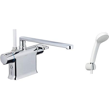 INAX・LIXIL 浴室水栓【BF-WM646TSG(300)】 シャワーバス水栓 デッキタイプ サーモスタット付シャワーバス水栓+エコフルスプレーシャワー