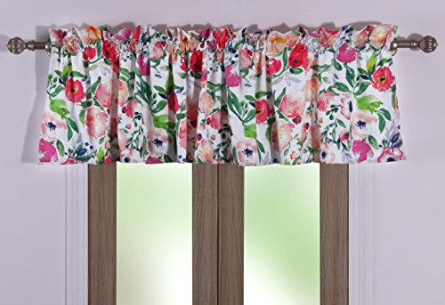 Greenland Home Blossom Valance, Multicolor