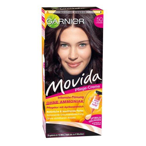 Garnier Movida Haarfarbe Intensiv-Tönung, 50 Cassis