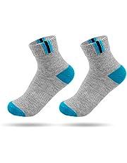 Katoenen sokken voor heren, ademend, zacht katoen, sokken, sokken, sokken, sokken, sportsokken, voor de zomer, sport