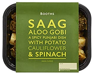 Booths Saag Aloo Gobi, 300g