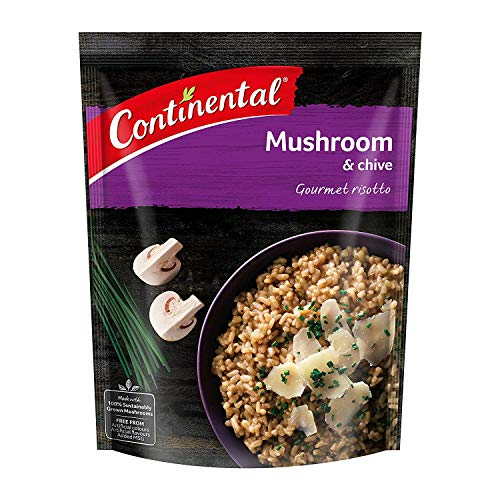 CONTINENTAL Gourmet Risotto (Side Dish)  Mushroom & Chive, 115g