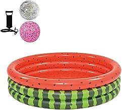 Kinderen in huishouden Outdoor Backyard Zwembad kinderen speelgoed for bovengrondse Portable Zwembad (Color : Pink 120 * 3...