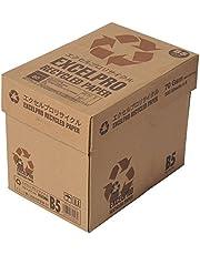 コピー用紙 B5 エクセルプロリサイクル 再生紙 2500枚 ( 500枚×5冊)  古紙含有率70%未満品 ATR104