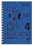 Das Ding 4 Kultliederbuch - Libro de canciones para canto y guitarra (más de 400 canciones conocidas de todos los estilos musicales, con pinza colorida en forma de corazón)