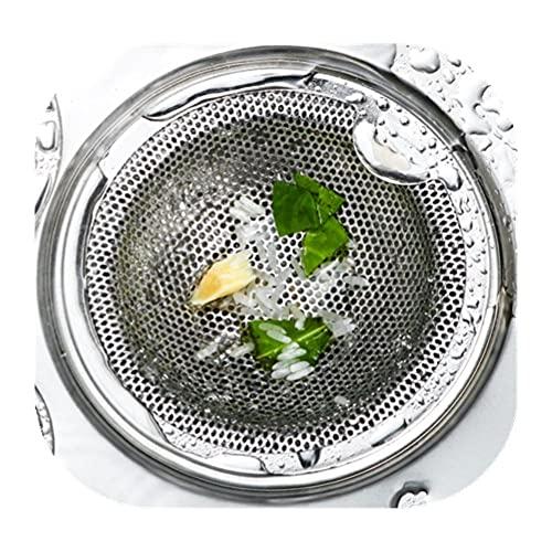Cucina Lavallo fognatura filtro in acciaio inox filtro Stringbing filtro Piscina Riga Riga Funnel Coperchio del filtro-5.2 cm.