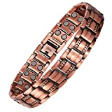 eDecor Magnetic Therapy Bracelet for Men (red Copper)
