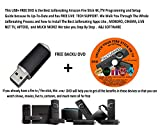 "Ultimate Jailbreaking Amazon Fire Stick/TV ""SMART"" Inter-Reactive Programming ,1 USB+ FREE DVD Set Jailbroken Setup) Jailbroke LIVE PHONE TECH SUPPORT"