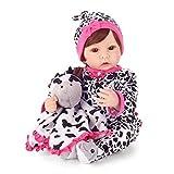 FACAIA Rebirth Doll, Juguetes para niños Reborn 22 'Reborn Dolls Girls Eyes Open Soft Silicona Vinilo Reborn Dolls de Aspecto Real con Boca magnética Muñecas de niña