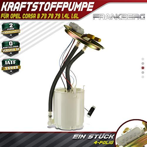 Kraftstoffpumpe Fördereinheit Benzinpumpe für Corsa B 73_ 78_ 79_ 1993-2000 93277517