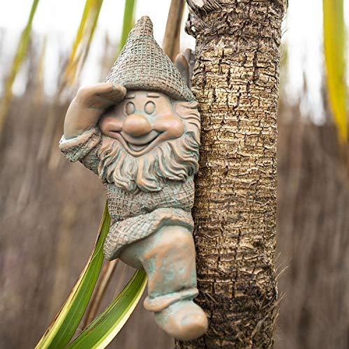 garden mile® Nain de jardin en forme de lutin - Décoration de jardin - Décoration d'intérieur