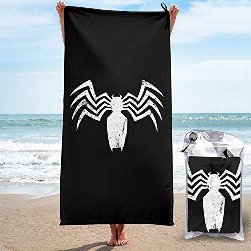Toalla de secado rápido Ve-Nom toallas de microfibra absorbentes, ligeras, portátiles, para acampar, deportes, viajes, fitness, 27.5 x 55 pulgadas