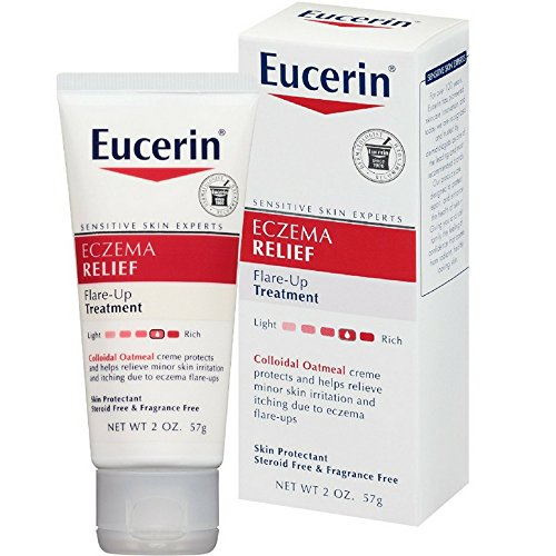Eucerin Eczema Relief Flare-Up Treatment Creme 2 oz ( Pack of 3)