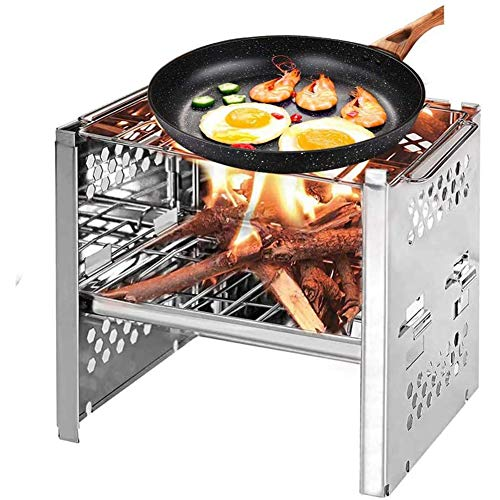 WYQ Barbecue Grill Mini Barbecue Net Tragbarer Holzofen Folding Holzkohle-Ofen japanischen BBQ Grill