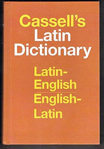 Cassell's New Latin English Dictionary Latin-English...