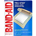 20-Count Band-Aid Brand Tru-Stay Adhesive Pads