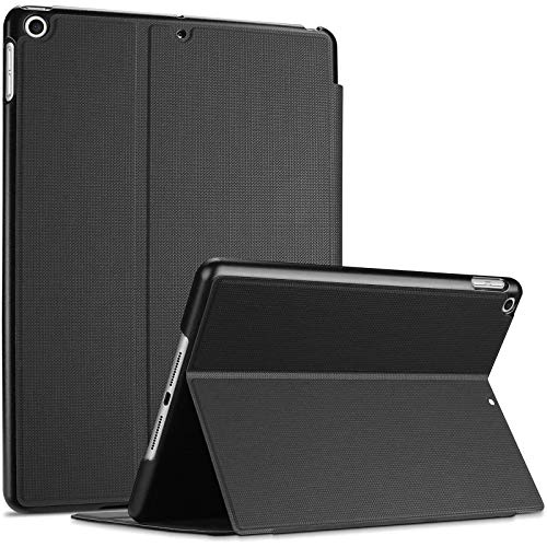 ProCase iPad 10.2 Case 2020 iPad 8th Generation / 2019 iPad 7th Generation Case, Slim Stand Protective Case Folio Cover for 10.2' iPad 8th Gen / 7th Gen -Black