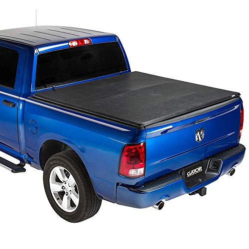 "Gator ETX Soft Tri-Fold Truck Bed Tonneau Cover | 59202 | Fits 2009-2018, 2019/2020 Classic Dodge Ram 1500-3500 6'4"" Bed 