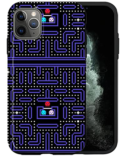 JUSPHY - Funda para teléfono compatible con iPhone 11 Pro Max, videojuego retro SHU004_1, diseño de moda, accesorios de teléfono