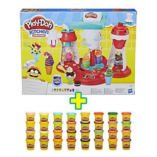 Play-Doh Súper Heladería + Mega Pack
