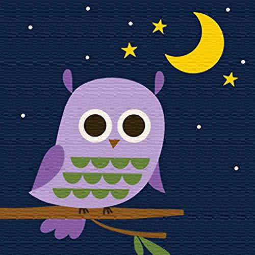 Komidea DIY Oil Painting, Paint by Number Kits for Kids Beginner, Lovely Owl...