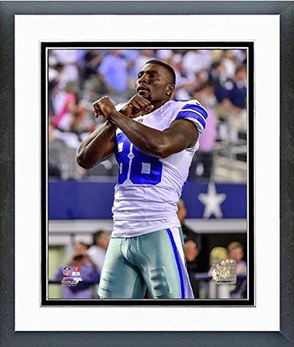Dez Bryant Dallas Cowboys Action Photo (Size: 12.5' x 15.5') Framed