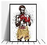 DPFRY Thomas Hitman Hernes Boxstar Sport Leinwand Poster