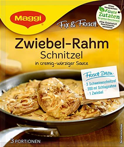 Maggi Aderezo para la Cebolla Schnitzel