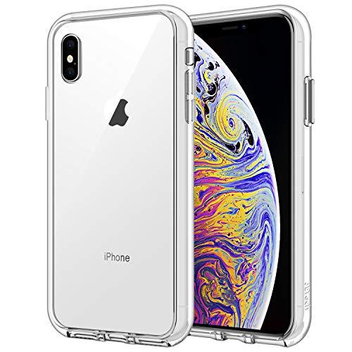 """JETech Custodia iPhone XS Max 6,5"""", Cover Case con Assorbimento Degli Urti, Trasparente HD Chiaro"""