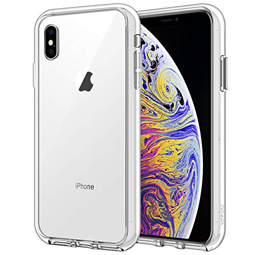 "JETech Funda iPhone XS MAX 6,5"", Carcasa Absorción de Impacto, Transparente"