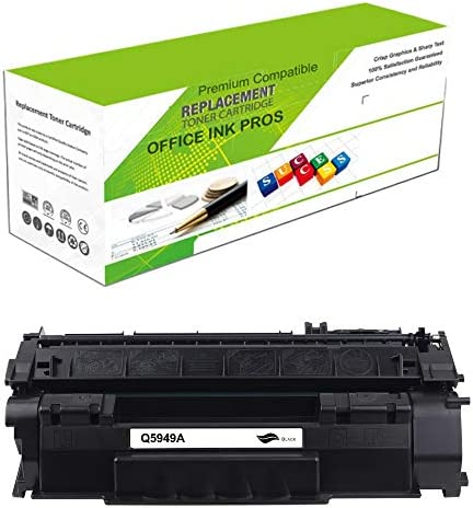 Premium Ink Toner Re Manufactured Toner Cartridge Replacement for Q5949A Universal with Q7553A product image