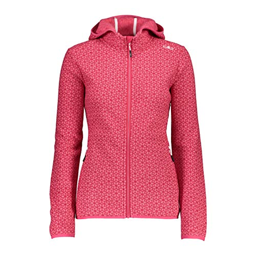 CMP Knitted Jacquard Jacket with Print Strawberry 36
