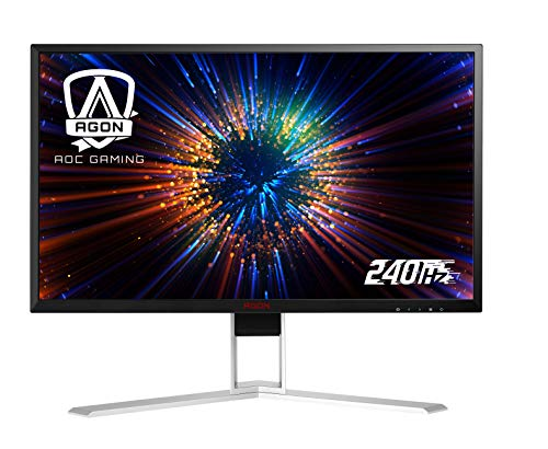AOC Agon AG271QX 27' Gaming Monitor, QHD 2560x1440, Freesync, 144Hz, 1ms, DisplayPort/HDMI/DVI-D/VGA, Quickswitch Keypad, VESA