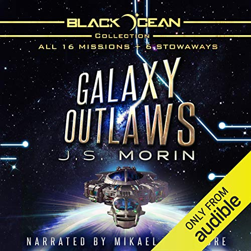 Couverture de Galaxy Outlaws: The Complete Black Ocean Mobius Missions, 1-16.5