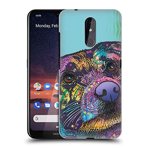Officiële Dean Russo Bekerglas Honden 4 Hard Back Case Compatibel voor Nokia 3.2