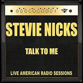 Talk To Me (Live)