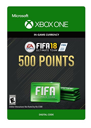 FIFA 18: Ultimate Team FIFA Points 500 - Xbox One [Digital Code]