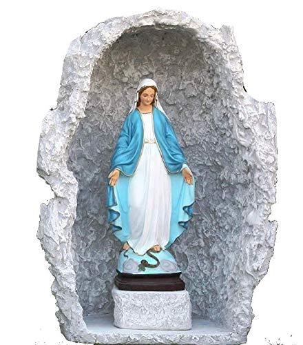 CASABRICONLINE Statua Madonna IMMACOLATA con Grotta 827+823