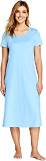 Lands' End Women's Midcalf Supima Cotton Nightgown