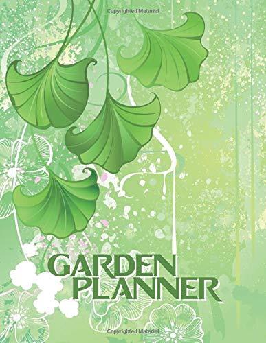 Garden Planner: A Guided Garden Planning & Growing Journal (Ginkgo Theme)