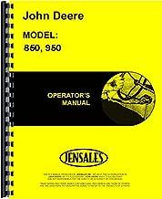 John Deere 850 0-016001 950 020001 up Tractor Owner Operators Manual