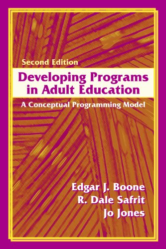 Developing Programs in Adult Education: A Conceptual Programming Model