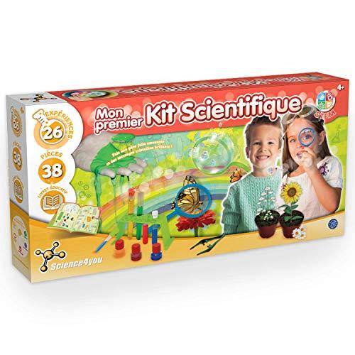 Science4You - Mon Premier Kit de Science - Jouet Enfant - Jeu Educatif et Scientifique - Labo Chimie - Création et Découverte - Coffret Scientifique Enfant - Le Cadeau Parfait dès 4 ans