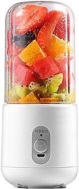 Shentesel Juicer USB Rechargeable Electrical Travel Fruit Food Blender Mixer Portable - White