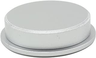 CEARI 39mm Screw Metal Body Cap and Rear Lens Cap Cover for Leica M39 Lens - Silver