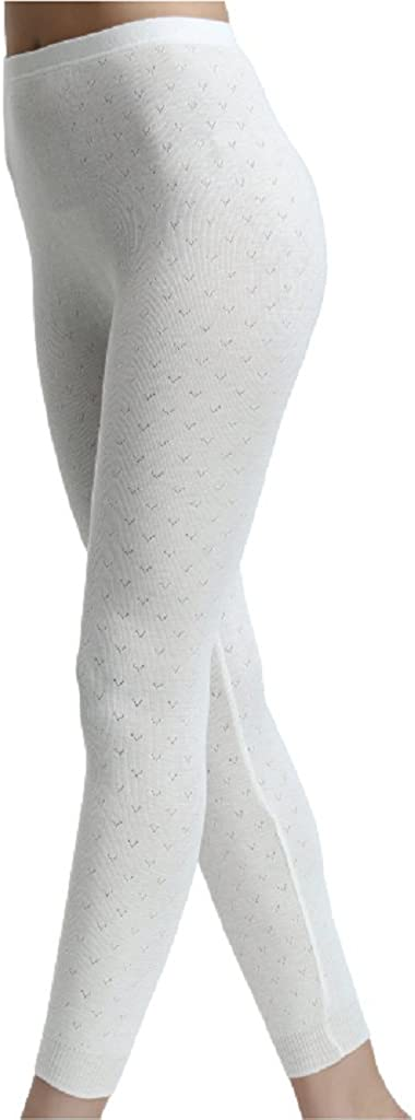 Palm Ladies/Womens Stylish Brushed Side Seam Free Thermal Long Jane Leggings